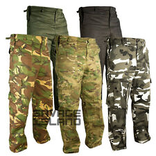 Mens Military Army Combat Trousers Airsoft Tactical Work Camo Pants Cargo