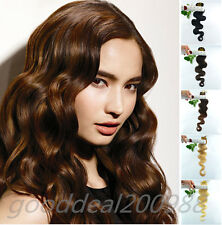 NEW Remy 20In.Long 6Pcs 30G BodyWavy Human Hair Clip In Extensions High Quality