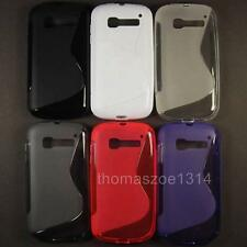 1 TPU Soft Case Cover Skin Pouch Protector For Alcatel Pop C5 One Touch OT 5036D