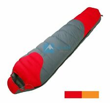 Camping White Duck Down Mummy Sleeping Bag -20 -10 0 Centigrade Degree Celsius