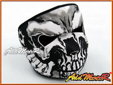 2 in 1 Reversible Motorcycle Biker Ski Mobile Neoprene New Design Face Mask