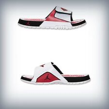 Men's Jordan Hydro Retro 2 Slide White/Gym Red/Black 644935 101