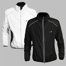 New de France Bike Bicycle Mens' Reflective Jersey Long Sleeve Wind Rain Coat