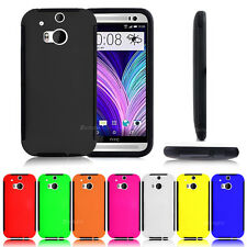 New Heavy Duty Tough Tradesman Colourful Case Cover For HTC One (M8)