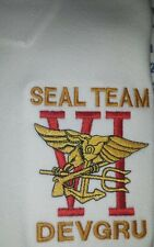 US NAVY SEAL TEAM EMBROIDERED POLO SHIRT Navy SEAL Team VI DEVGRU Embroidery