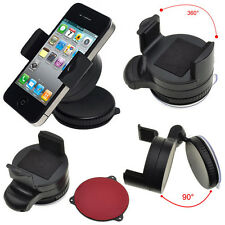 360 ROTATE WINDSCREEN SUCTION CAR MOUNT HOLDER CRADLE FOR ALL MOBILE PHONES