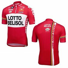 Jersey Lotto Belisol by Vermarc short zip