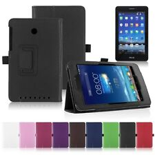 Vic Folio Leather Stand Folding Case Cover For ASUS MeMO Pad HD 7 ME175 ME175KG