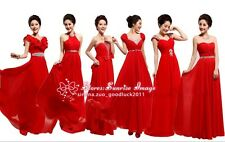 FS060 Formal Evening Prom Party Dress Bride/Bridesmaid Dresses Ball Gown Gift