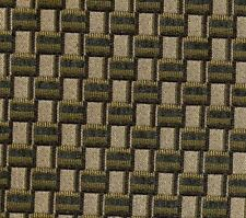 Chenille Fabric - Upholstery/Drapery Beige / Green