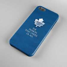 Toronto Maple Leafs Ice Hockey For iPhone 5s 5 4S 4 Hard Case Cover