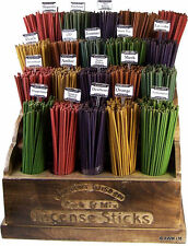 20 COLOURED INCENSE STICKS - VARIOUS SCENTS - FREE UK P&P - 5 for 4