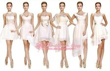 FS076 Formal Evening Prom Party Dress Bride/Bridesmaid Dresses Ball Gown Gift
