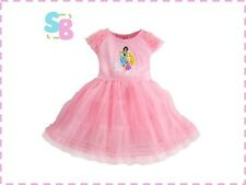 KIDS CHILDRENS GIRLS CLOTHES DISNEY PRINCESS STYLE PARTY DRESS 2-3-4-5-6-7 YEARS