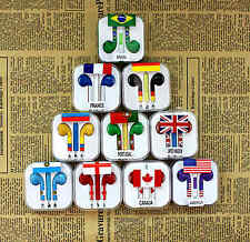 World Cup Flag Earphone Headphone Headset For Tablet PC MP3 Mobile Phone iPhone