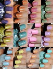 NEW Kleancolor HOLO PASTEL Nail Polish FULL SIZE .5OZ 12 Colors to Choose From