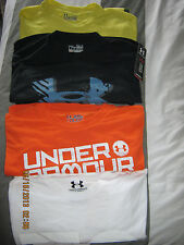 NWT Men's Under Armour Polyester, Cotton T Shirts in Assorted Color & Sizes