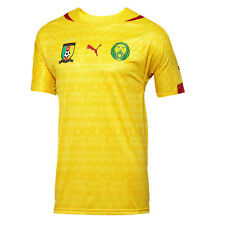 Puma Cameroon World Cup WC 2014 Away Soccer Jersey Brand New Yellow