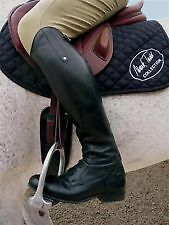 Mark Todd Long Leather Competition Field Riding Boots SALE + Worldwide Shipping