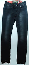 $198.00 Remetee by Affliction Womens Disstresed Slim Straight Jeans Sz 28