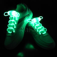 CHEAP FASHION Boys Girls Kids Flash LED Shoelaces Light Up Shoe Care Shoestrings
