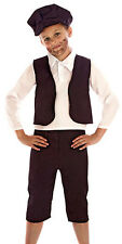 BOYS VICTORIAN EDWARDIAN OLIVER TWIST FANCY DRESS COSTUME OUTFIT 2-4-6-8-10 NEW