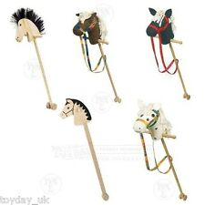 Wooden Jumper Hobby Horse Brown Spotty Black with Hair £2.95 Flat P&P in UK