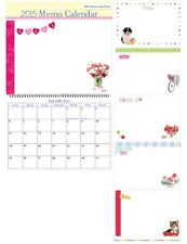 2015 MEMO CALENDAR WIPE CLEAN WITH PEN MONTH TO VIEW