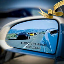 4 Inch OBJECTS IN MIRROR ARE LOSING Vinyl Decal Sticker 4 Banger JDM ILL 070