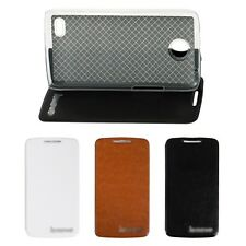 New Luxury Leather Protector Cover For Lenovo A820 Smart phone Stand Flip Case