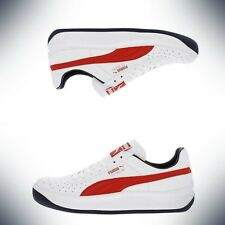 Mens Puma GV Special White Red Peacoat Navy Blue 343569-82