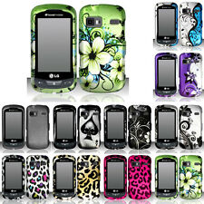 SnapOn Hard Phone Cover Case D-1 for LG RUMOR REFLEX S LN272 FREEDOM CONVERSE