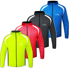 Winter Cycling Jacket Windproof Thermal Cycle Jacket  Full Sleeves S To XXL