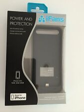 iFans MFI Certified 2400mAh Extended Battery Case Charger For Apple iPhone 5/5S