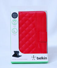 Apple Belkin iPad Mini Quilted Cover With Stand Original Sealed Boxed PU Leather