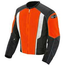 JOE ROCKET PHOENIX 5.0 MESH MOTORCYCLE RIDING JACKET ORANGE BLACK WATERPROOF NEW