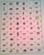 Travel floating charms for living memory lockets buy 10 get 2 free US seller