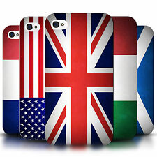 Phone Case Hard Back Cover for Apple iPhone 4 4S / Printed World Country Flags