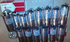 RUN CAPACITORS, Dual, 440V - Sizes from 20/5 to 80/5 uF(MFD) - New by QE Quality
