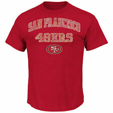 San Francisco 49ers MENS Shirt T-Shirt Team Shine VI by Majestic Athletic
