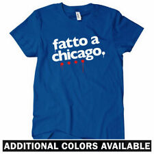 Made In Chicago Women's T-shirt - Italian - Windy City Bears Cubs 773 - S to 2XL