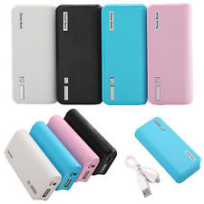 5600MAH BATERIA EXTERNA CARGADOR POWER BANK PORTATIL+CABLE USB PR IPHONE TABLET