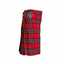 Scottish Highland Active Men Utility Sports Traditional Royal StewartTartan Kilt