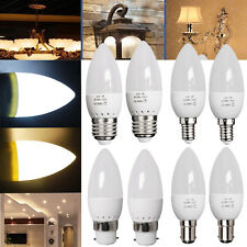 3W BC B22 SBC B15 SES E14 ES E27 SMD LED Candle Light Bulbs(35W Equivalent) D/W