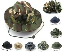 New Camouflage Bucket Hat Camping Hiking Sun Fishing Hunting Outdoor Cap Unisex