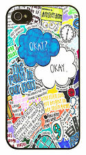 Okay Okay The Fault In Our Stars Quote John Green Case Cover for iPhone