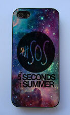 5 SOS 5 Seconds of Summer Galaxy Star Fitted Case Apple iPhone & iPod
