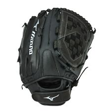 "Mizuno Blackout GBO1400 Adult Slowpitch or Fastpitch 14"" Softball Utility Glove"