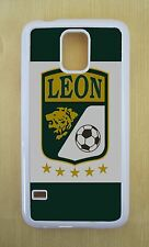 Club Leon Mexico Liga MX White Fitted Case For Samsung Galaxy S3,S4,S5