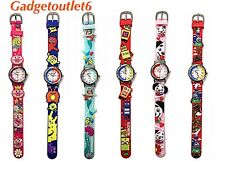 RAVEL3D CHILDREN CARTOON WATCHES GIRLS& BOYS  TIME TEACHER KIDS EASY TO READ NOS